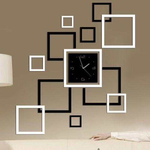 Relogio de parede para decorar a sala loja de for Cadre photo design mural